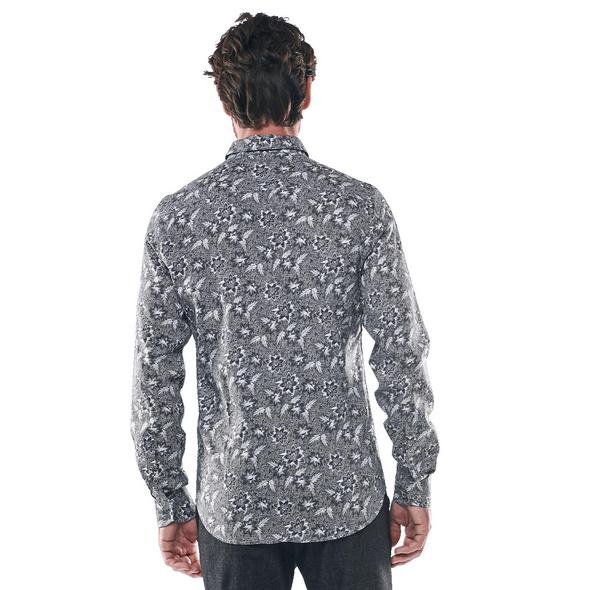 Langarmhemd mit smartem Kragen