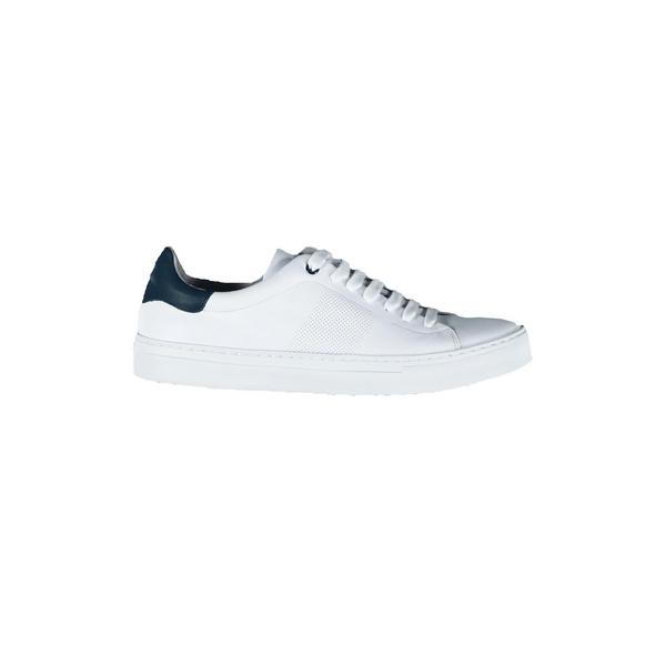 Trendiger Leder-Sneaker