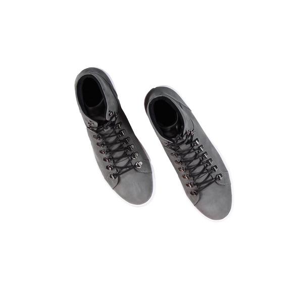 High-Sneaker in Nubuk-Qualität