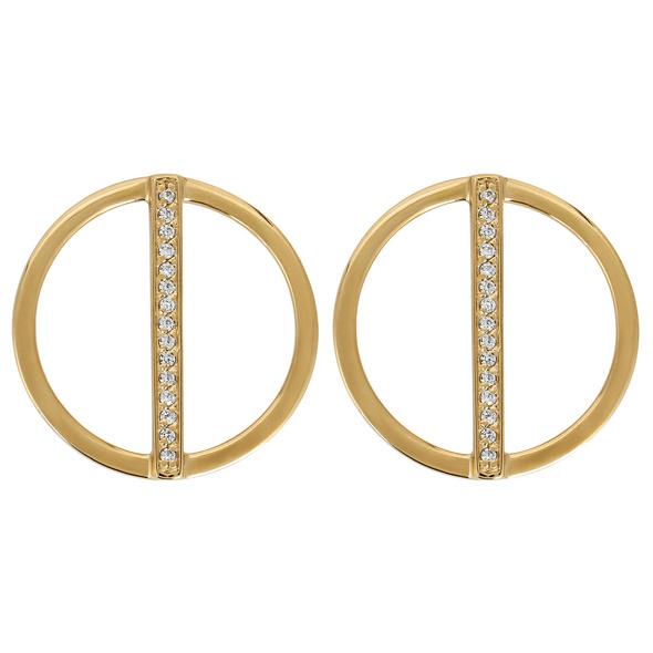 Ohrstecker - Golden Circle String