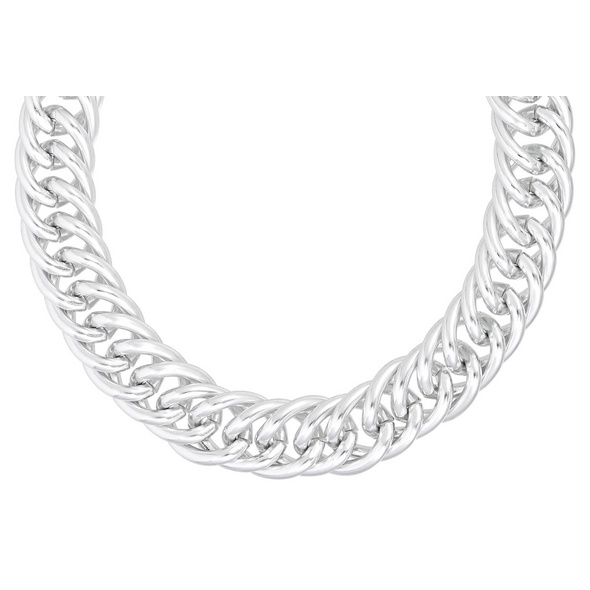 Kette - Chunky Silver