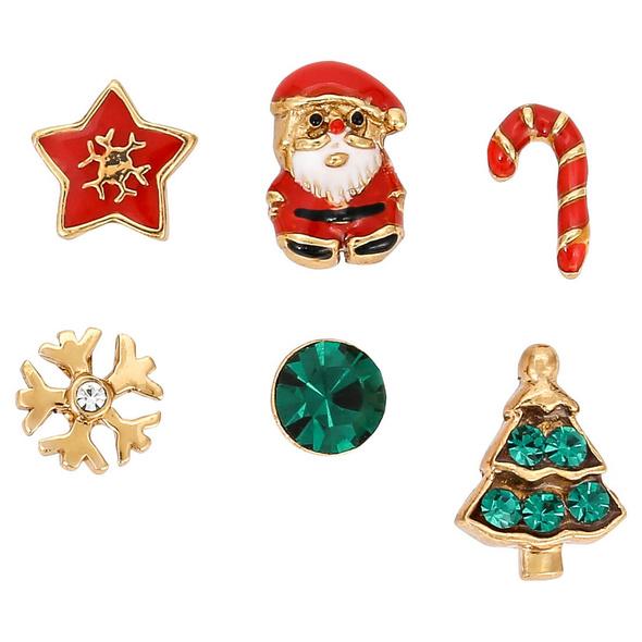 Ohrstecker-Set - Christmas Family