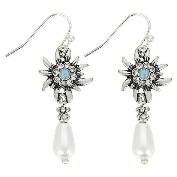 Ohrhänger - Edelweiß Perle