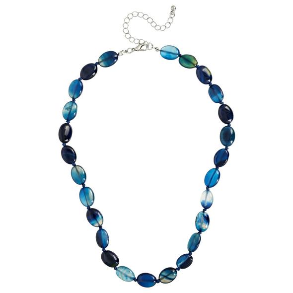 Kette - Blue Agate