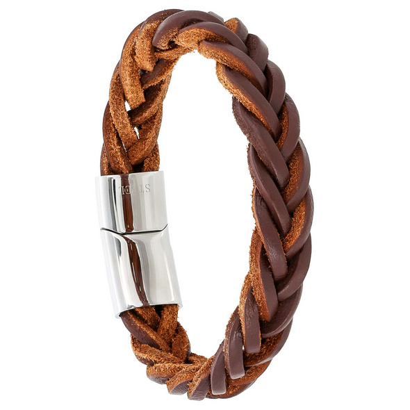 Herren Armband - Brown Leather
