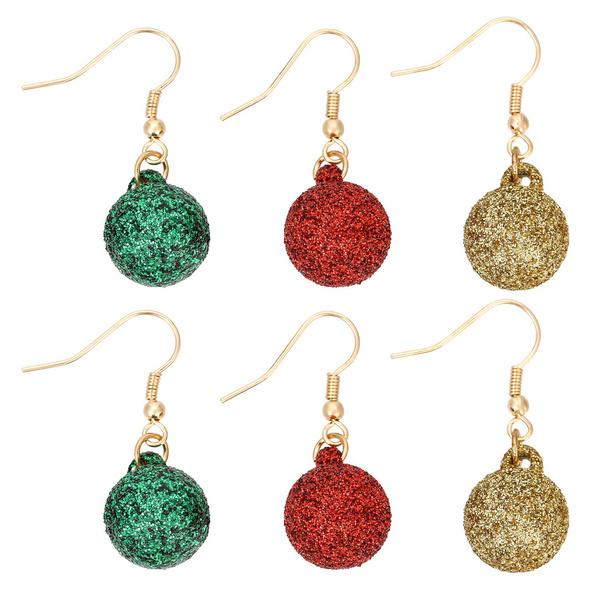 Ohrhänger-Set - Christmas Balls