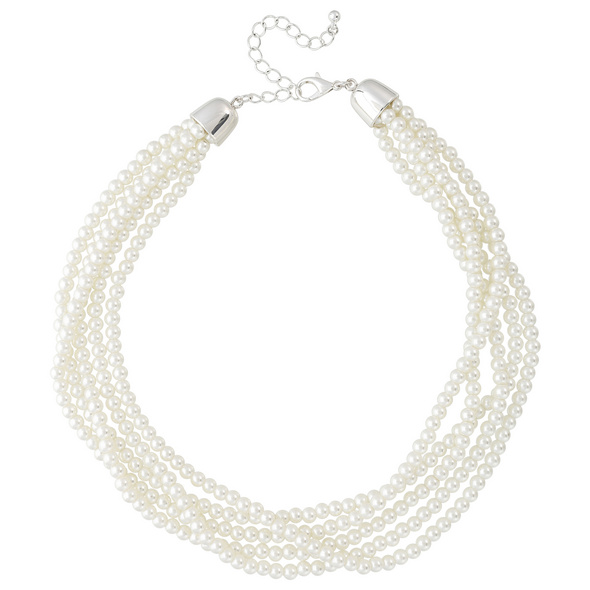 Kette - Classic Pearls