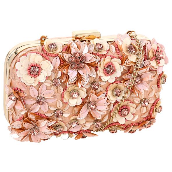 Clutch-Box - Pastel Flowers