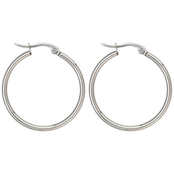 Creolen - Trendy Silver