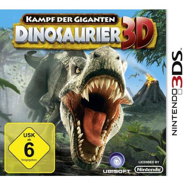 3DS Kampf der Giganten Dinosaurier 3D
