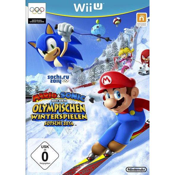 Nintendo Mario & Sonic bei den Olympischen Winterspielen: Sotschi 2014