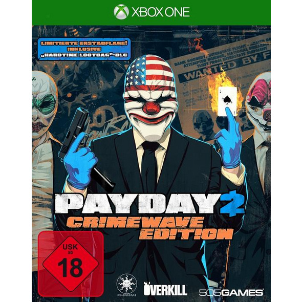 505 Games PayDay 2 - Crimewave Edition