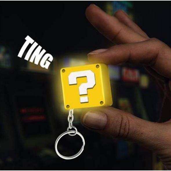 Super Mario - Schlüsselanhänger Fragezeichen