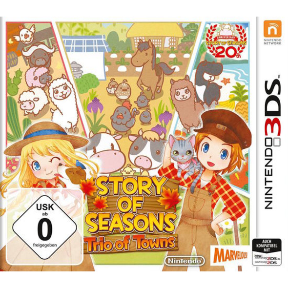 Marvelous Entertainment Story of Seasons - Trio of Towns