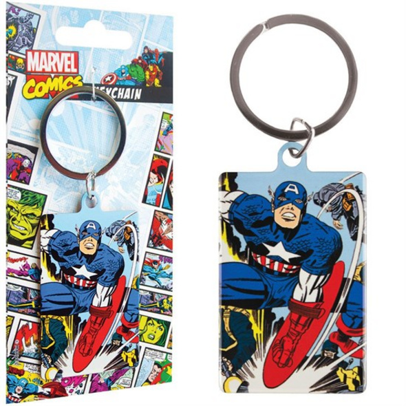 Marvel Comics - Schlüsselanhänger Captain America