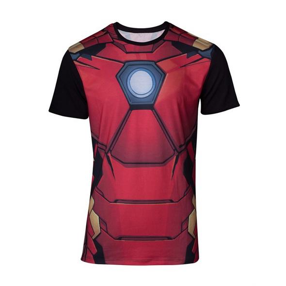 Marvel Iron Man - T-Shirt Suit (Größe M)