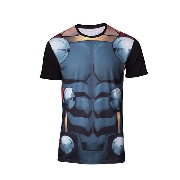 Thor Ragnarok - T-Shirt Thor Print (Größe L)