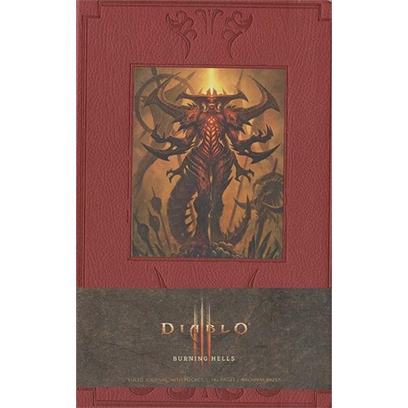 Diablo Notizbuch - Burning Hells