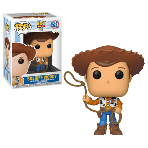 Toy Story - POP!-Vinyl Figur Sheriff Woody