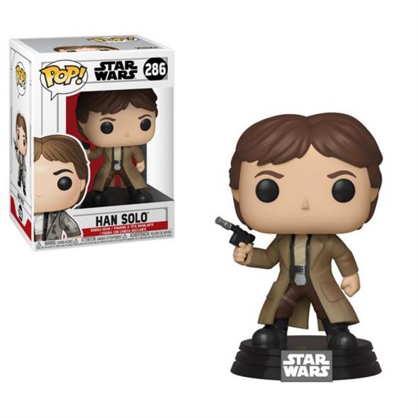 Han Solo - POP! Vinyl-Figur Endor Han Solo