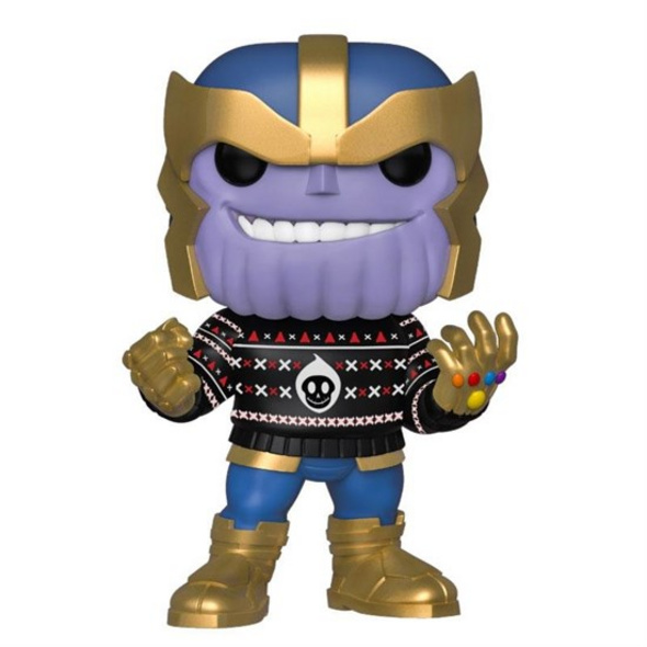 Marvel - POP!- Vinyl Figur Feiertags Thanos