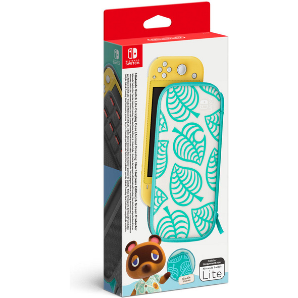 Nintendo Switch Lite-Tasche & -Schutzfolie Animal Crossing: New Horizons Edition