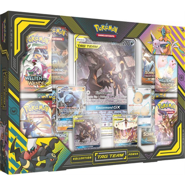 Pokémon Sammelkartenspiel: Tag Team Powers Kollektion (zufällige Auswahl)