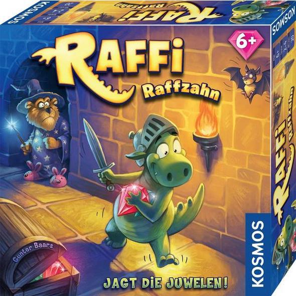 KOSMOS 681036 - Raffi Raffzahn, Legespiel, Merkspiel