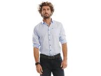 Elegantes Langarmhemd in Paisley Optik