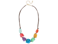 Kette - Colourful Achat