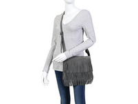 Handtasche - Grey Leather
