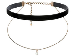 Choker - Antique Velvet