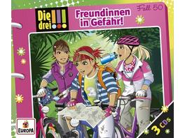 Die drei !!! - Freundinnen in Gefahr, 3 Audio-CDs