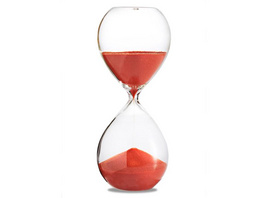 Sanduhr 'Time Out' 10 Minuten, orange