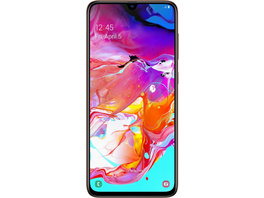"Samsung Galaxy A70 (128GB) coral (6,7"" Display, 128 GB Speicher, 6 GB RAM, 32 MP...)"